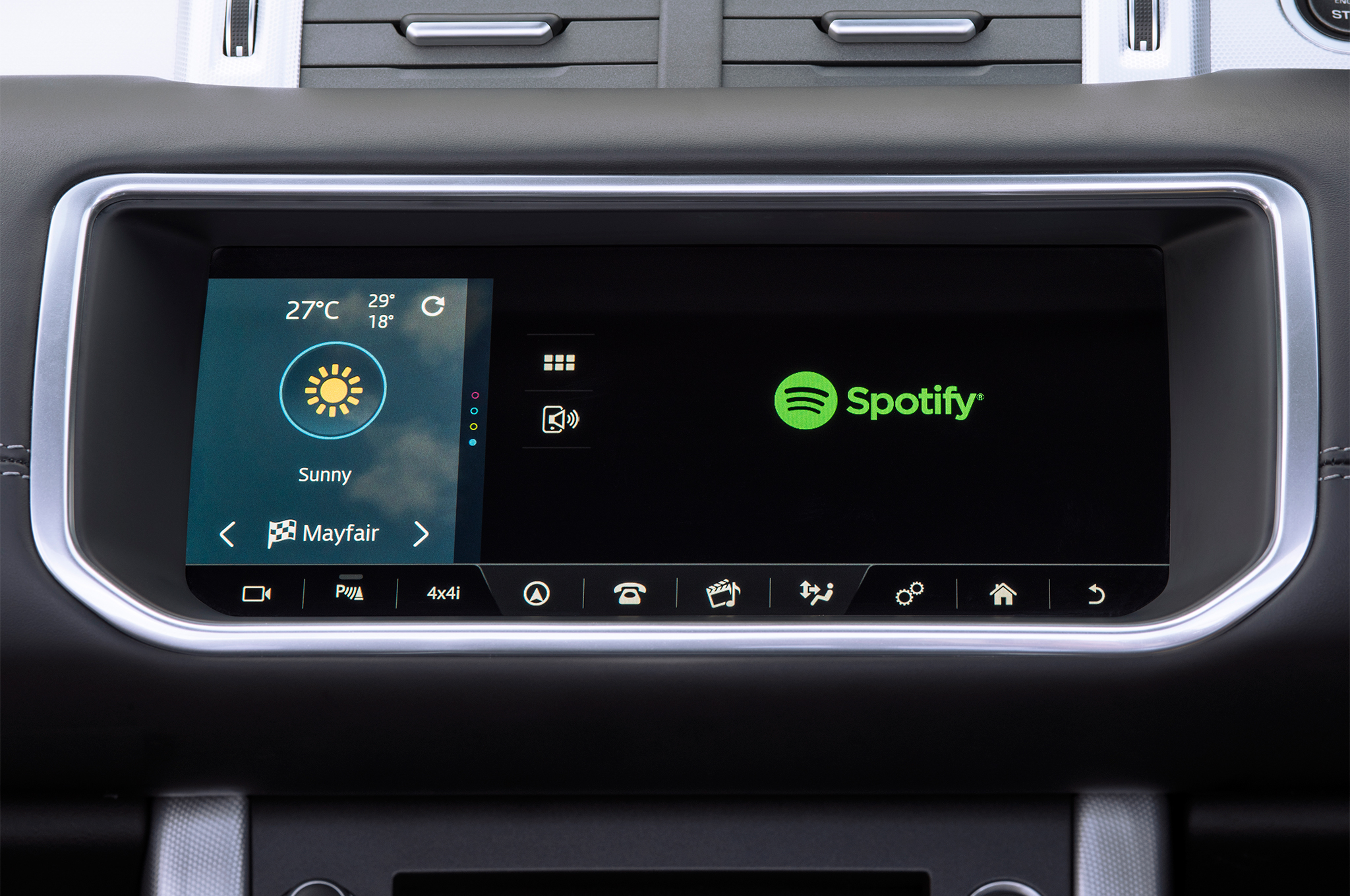 Jaguar Land Rover Adds Spotify Music Streaming to In Car App List
