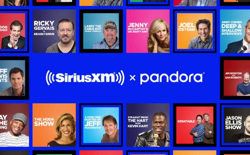 SiriusXM Unveils Podcasting Venture onPandora