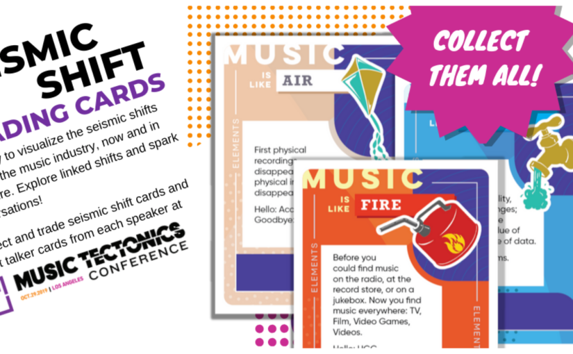 L.A.'s Music Tectonics Launches Music Industry TradingCards