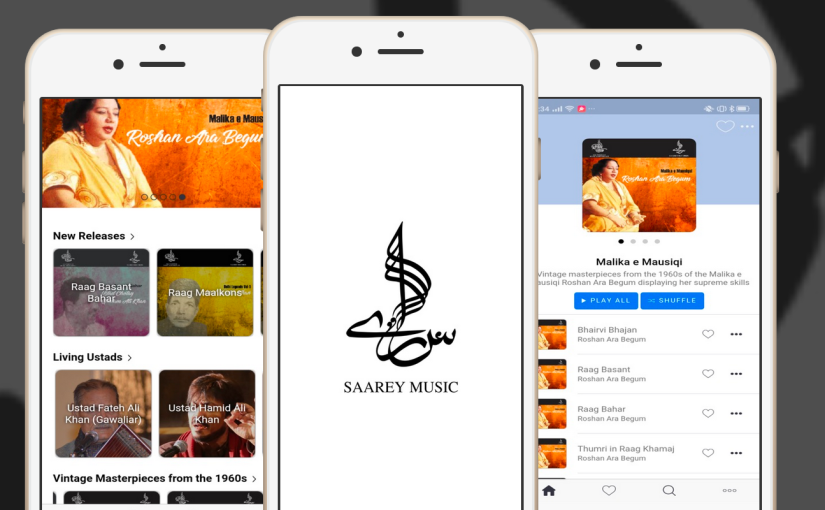 Saarey Music Spotlights Classical Music in Pakistan With Music Streaming Service